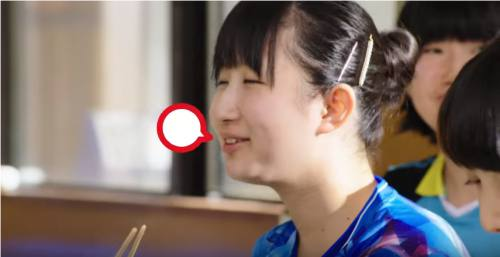 QTTA(クッタ)CMの女の子は誰?卓球する女性がすごい!(早田 ひな)