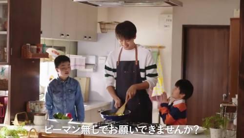 クックドゥCM(青椒肉絲)の俳優は誰?ピーマンを調理する男性がイケメン!(竹内 涼真)
